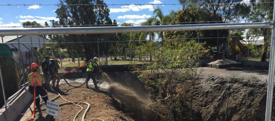 Easy Reach Concrete Pumping at work in Charters Towers